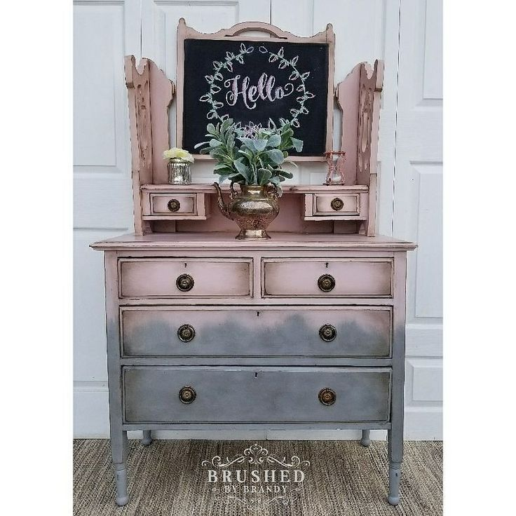 Just pout up a blog post on this pretty in pink dressing table done with @fusionmineralpaint in English rose and little lamb. Check out the link on my profile!    Brushedbybrandy.wordpress.com   #fusionmineralpaint #pink #englishrose #littlelamb #gray #brushedbybrandy #blog #blogger #wordpress