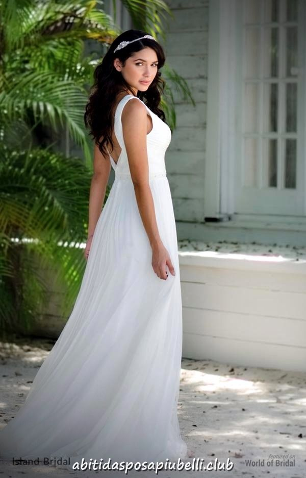 8696bc80437f Abiti da sposa 2018 da sposa dell isola  abiti  isola  sposa