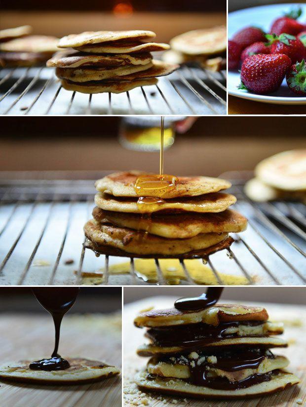 Το ηθικό δίδαγμα: Κάθε μέρα είναι μέρα για Pancakes. Και κάθε ώρα.