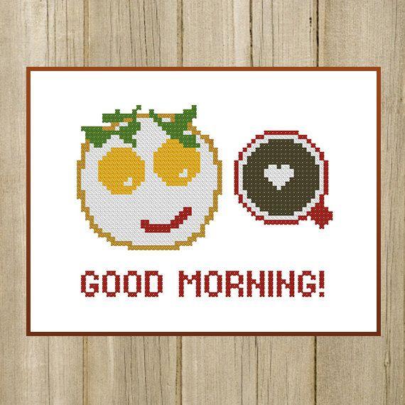PDF. Good Morning Breakfast. Gift for friend. by SecretFriends