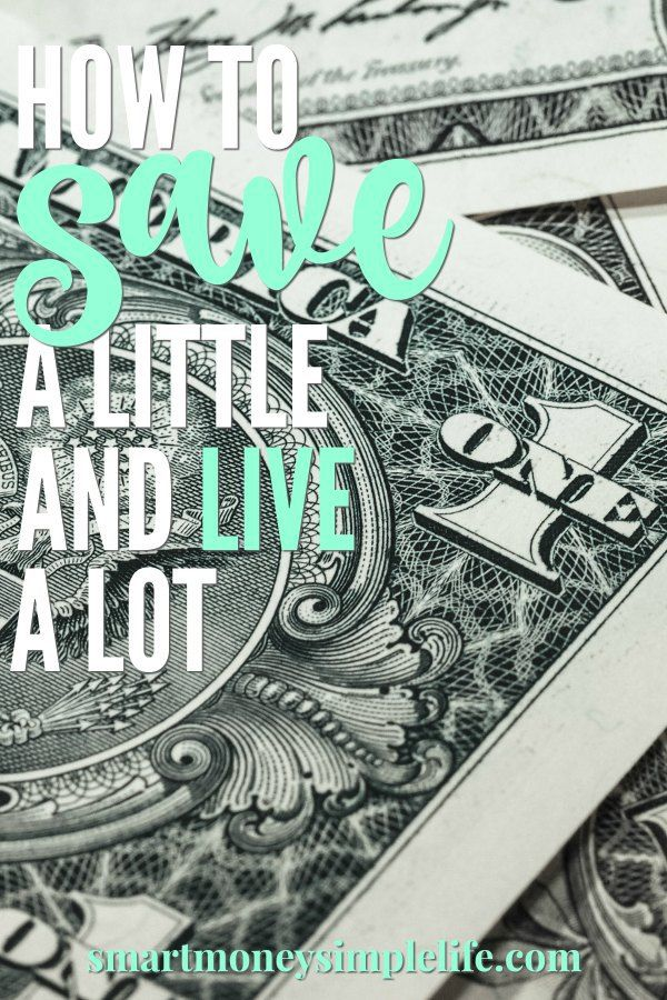 Save a little. Live a lot. Saving money when you're already on a tight budget is tough. But, it CAN be done. Use these tips to save a little so you can live a lot.