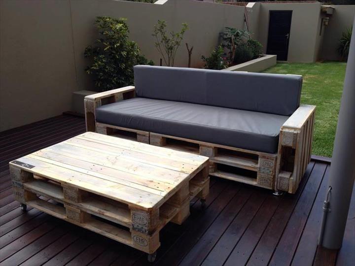 Top 104 Unique DIY Pallet Sofa Ideas | 101 Pallet Ideas - Part 7
