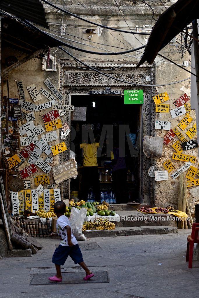 Stone Town shop  A strange shop in Stone Town  For more photos follow me on instagram @riccardo_mantero