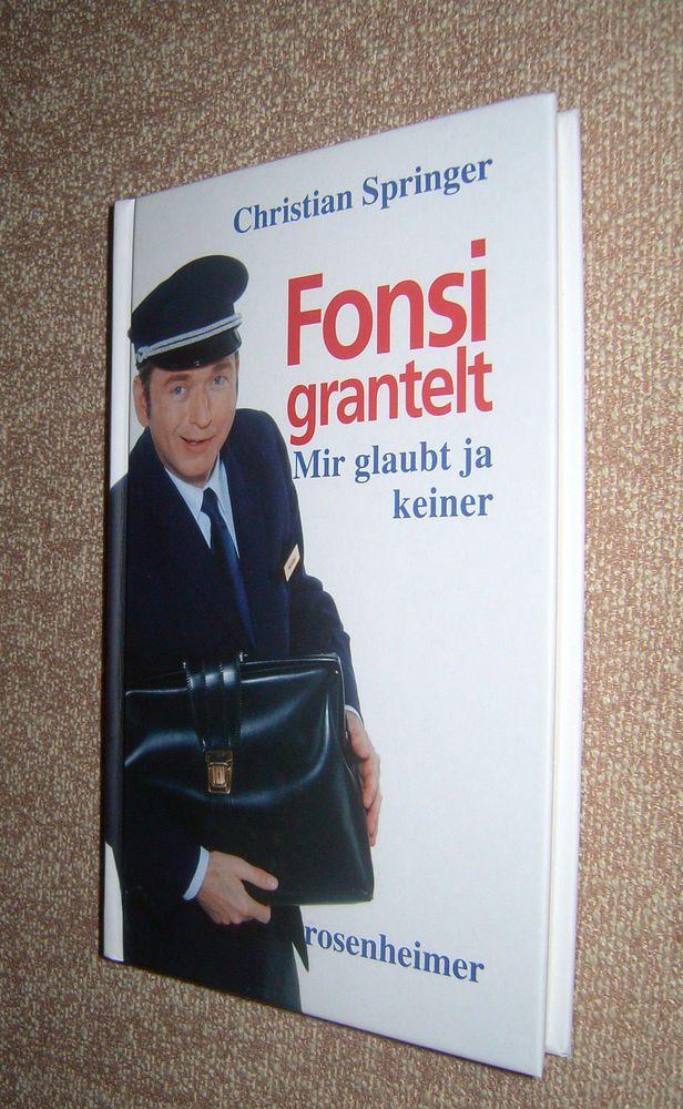 Fonsi grantelt von Christian Springer, gebunden ( 2005)Nichtraucherhaushalt