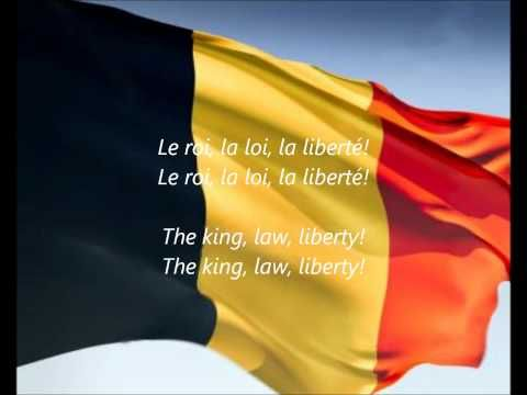 "Belgian National Anthem - ""La Brabançonne"" - This version has it in the country's 3 national languages, as well as with English subtitle translation."