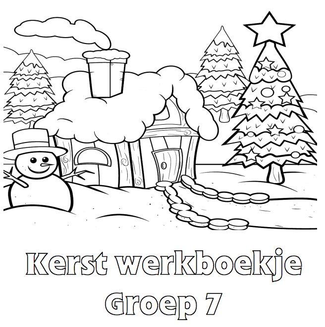 Kerst Werkboekje Groep 7