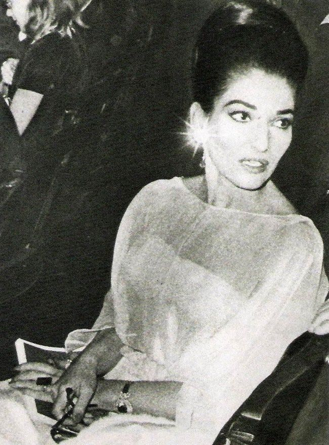 Maria Callas is listed (or ranked) 23 on the list The Top Celebrity Fashion Icons of All Time