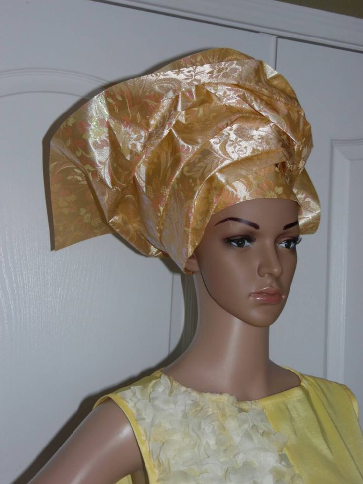 AFRICAN HEADTIES / WRAP (Gele) #gele