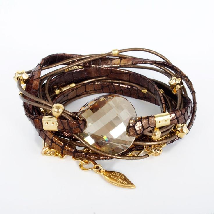 Crystal Wrap Bracelet Pewter by Sara DesignsWraps Bracelets, Crystals Wraps, Jewelry Inspiration, Wrap Bracelets, Fashion Jewelry, Jewels, Accessories, Bracelets Pewter, Fashion Fabulous
