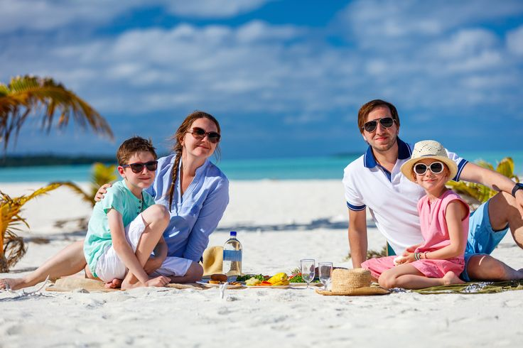 Family outings are a lot of fun; throw in a beach and you have a recipe for memorable outing.