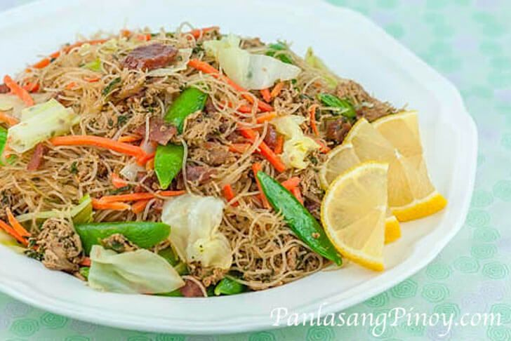 Pancit Bihon is a popular noodle dish in the Philippines. This recipe uses rice sticks. Watch our video and learn how to cook this recipe.