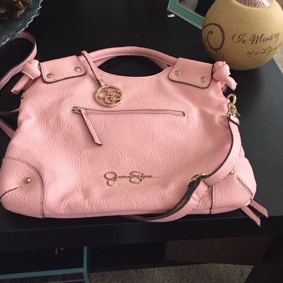 Jessica Simpson purse Pink purse! Super cute Jessica Simpson Bags Shoulder Bags