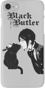 black butler iPhone 7 Cases