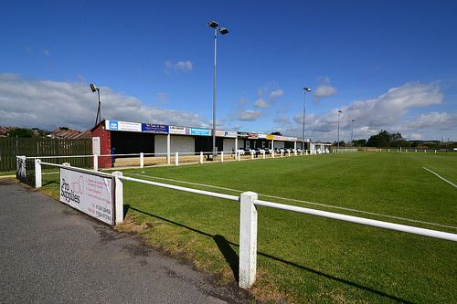 Penistone Church FC. The Memorial Ground.
