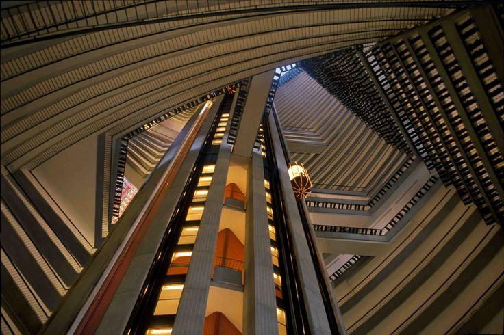 The atrium of the Atlanta Marriott Marquis, designed by John Portman
