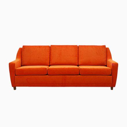 Die besten 25+ Orange wohnzimmer sofas Ideen auf Pinterest - wohnzimmer sofa rot