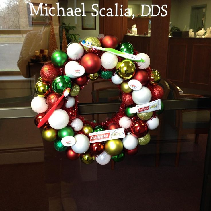 christmas decorations office kims. Christmas Decorations Office Kims. Our Dental Inspired Wreath Put Together By Kim Kims O
