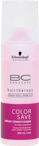 Schwarzkopf BC Bonacure Color Save Spray Conditioner for Unisex, 6.8 Ounce ** This is an Amazon Affiliate link. Be sure to check out this awesome product.