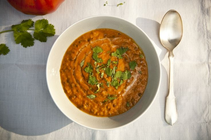 Kitchenette - Zeleninová krémová polévka s čočkou