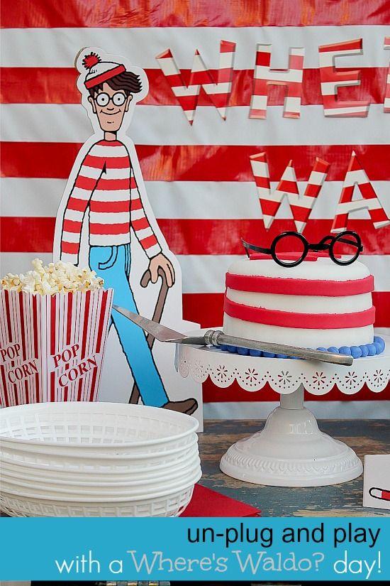 Un-Plug and Dress Up: Where's Waldo Day