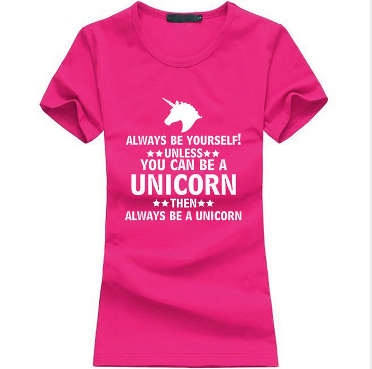 You Can Be A Unicorn T-Shirt //Price: $14.95 & FREE Shipping //