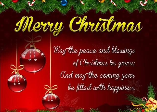 Wonderful The Merry Christmas Greeting Picture And Status Message Help In Wishing  Each And Every Family Member