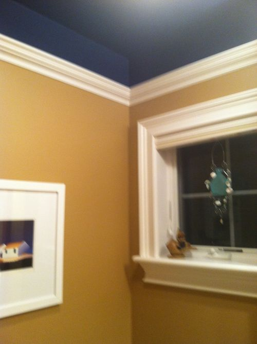 17 Best Ideas About Crown Molding Mirror On Pinterest Half Bathroom Remodel Wainscoting
