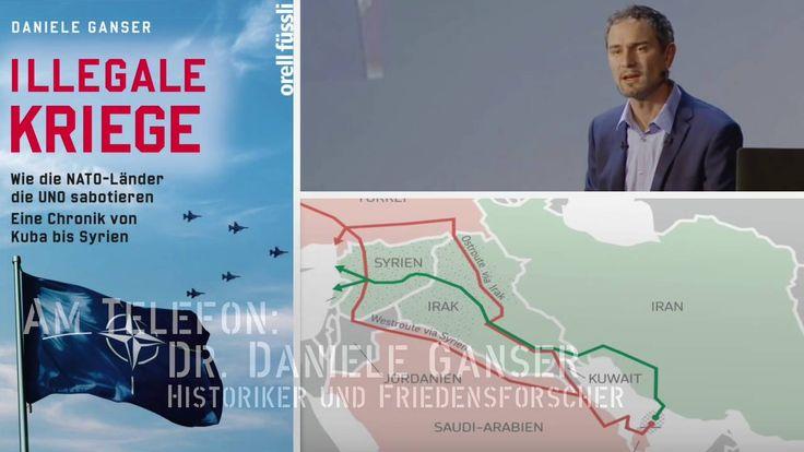 KenFM am Telefon: Dr. Daniele Ganser über Öl-Pipelines und Krieg in Syrien