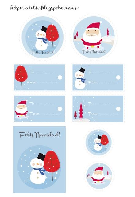 Una parte de mi: Free Christmas printables