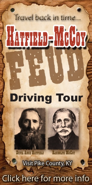The Hatfield-McCoy Feud: Driving Tour