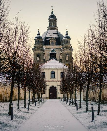 Pažaislis Monastery in Kaunas, Lithuania ... Book & Visit LITHUANIA now via www.nemoholiday.com or as alternative you can use lithuania.superpobyt.com .... For more option visit holiday.superpobyt.com