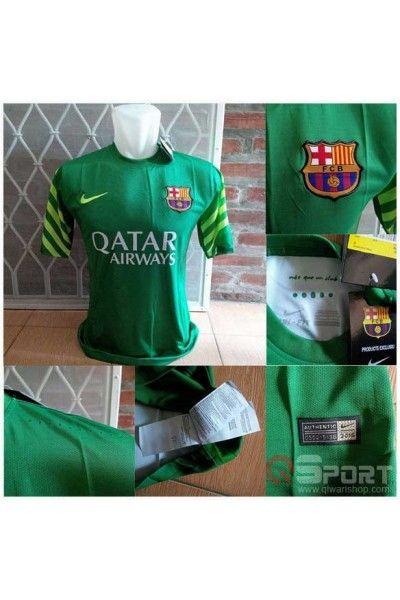 Jersey Barcelona GK Hijau 2015/2016