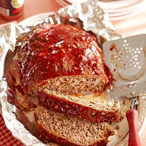 Lightened up with lean beef, whole-wheat breadcrumbs and nonfat milk, this meatloaf has classic flavor plus some, with a balsamic splash in the...