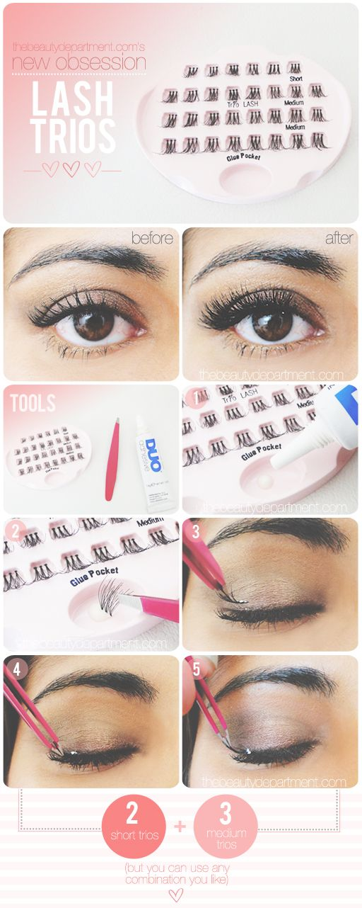 how To: Lash trios