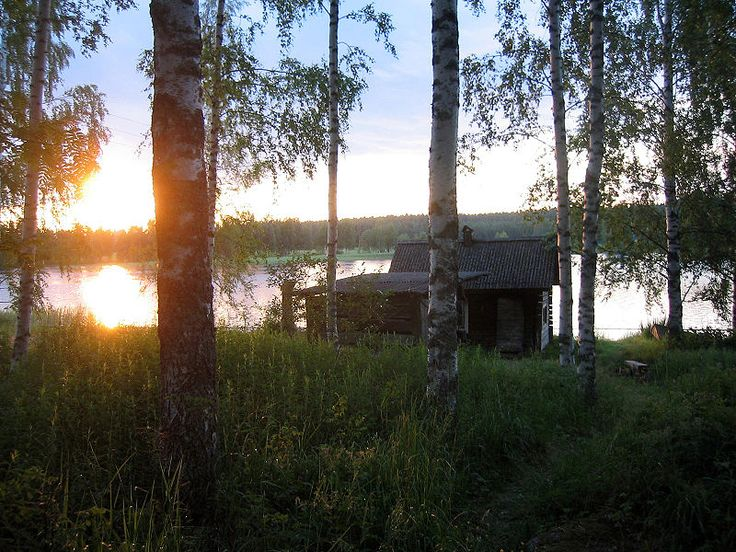 The Finns invented the sauna!  You're welcome!  :D #Finland #Sauna