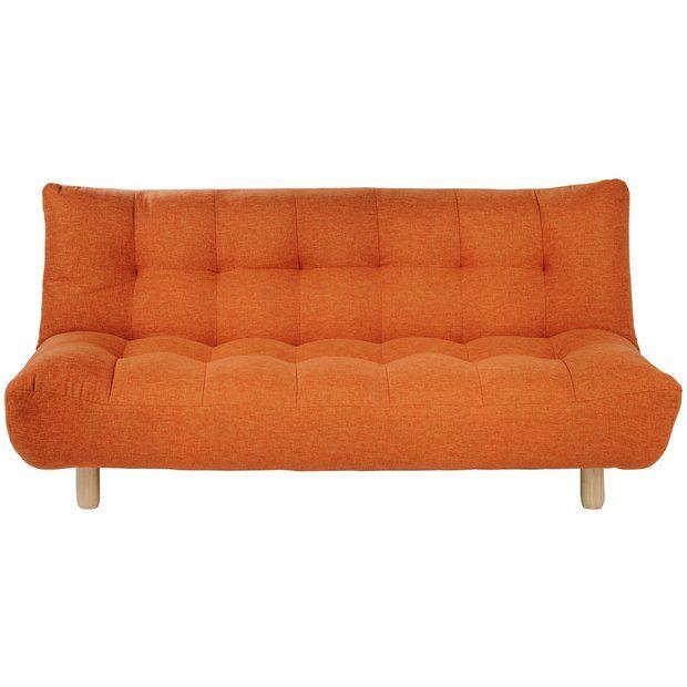 Habitat Kota 3 Seater Fabric Sofa Bed