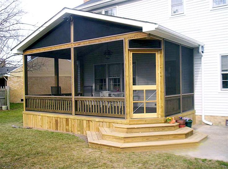 Awesome 10 Pictures Of Porches In Simple Designs If You Have No Time To Remodel Your Porch