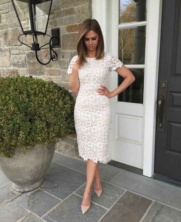 The Little White Dress for Spring | Kensington Way | Bloglovin'