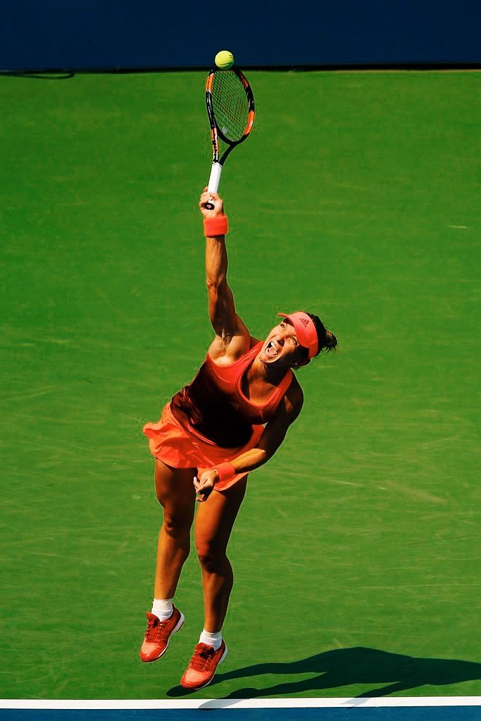 Simona Halep at the US Open 2015 #WTA #Halep #USOpen