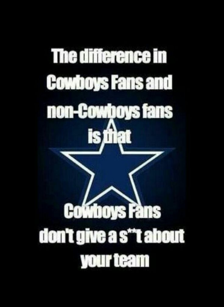 """So true...there's a team in DC?  Thought that stands for """"DALLAS COWBOYS""""!!!"""