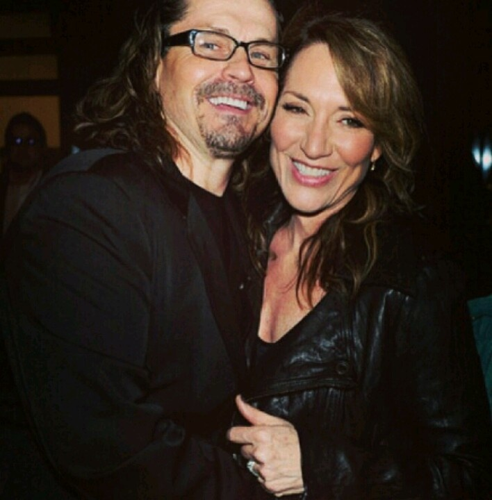 Kurt Sutter and his wifey Katey Segal