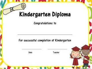 14 best images about kindergarten graduation on pinterest end of invitation wording and change to for Kinder diploma template