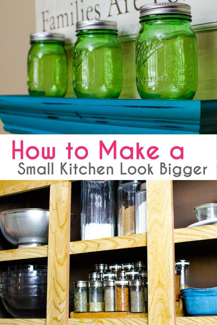 How To Make A Small Kitchen Look Bigger With Paint 28