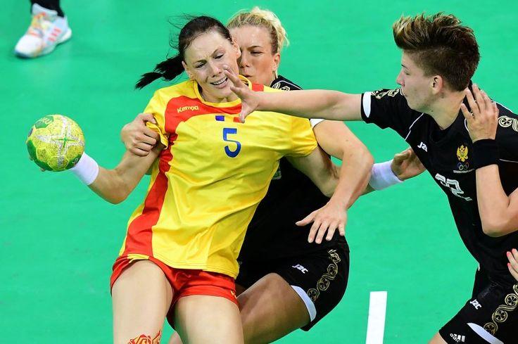 Handgreiflichkeiten: In der Vorrunde der Handball-Damen wird ganz schön...