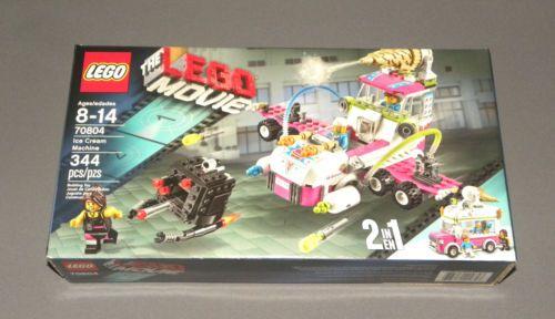The Lego Movie Ice Cream Machine Set 70804 Ice Cream Truck