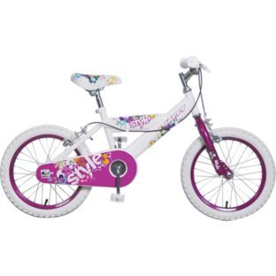 Buy Huffy 16 Inch Bike - Girls' at Argos.co.uk - Your Online Shop for Children's bikes, Children's bikes.