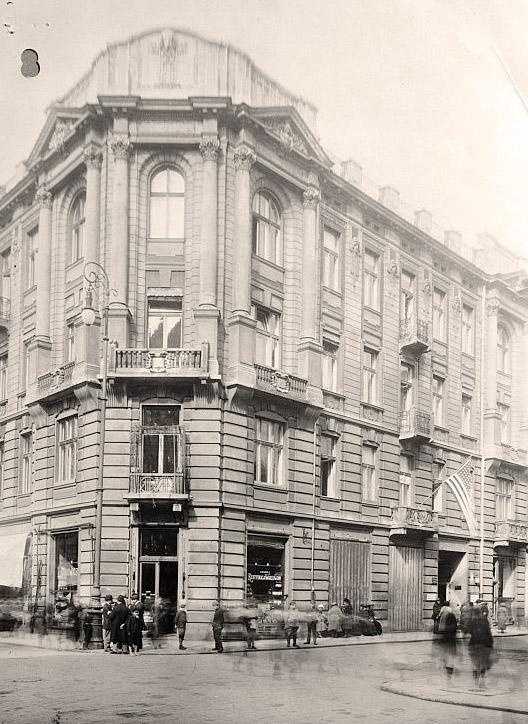 American Embassy in Warsaw taken on September 1st 1939 (the day that Germany attacked Poland)