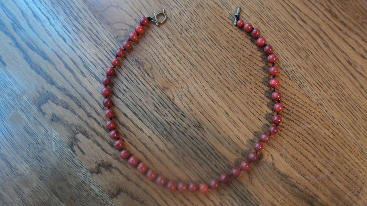 porous coral necklace. $ 15