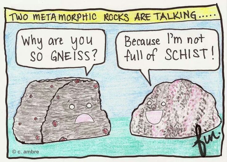 Thank you Mrs. Durfee for introducing me the wonderful world of Geology Humor!