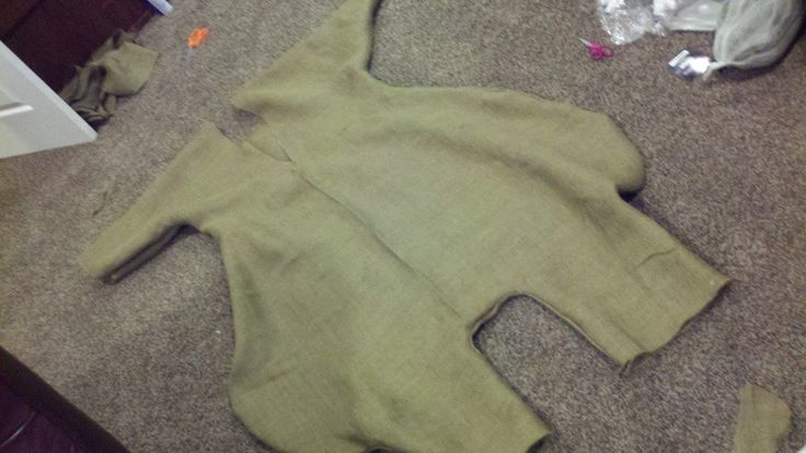 Semrau Family Costumes: Oogie Boogie Costume - Building the Body